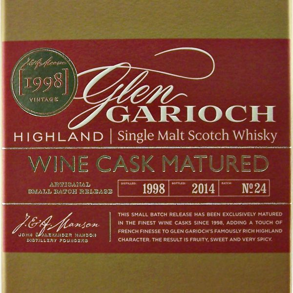 Glen Garioch Wine Cask Matured Single Malt Whisky