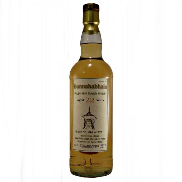 Bunnahabhain 22 year old Single Malt Whisky