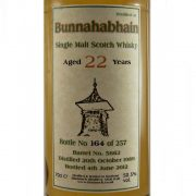 Bunnahabhain 22 year old Single Malt Whisky Bladnoch Forum