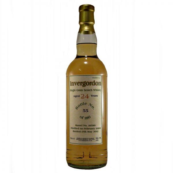 Invergordon 24 year old Single Grain Whisky