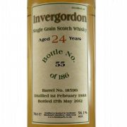 Invergordon 24 year old Single Grain Whisky Bladnoch Forum