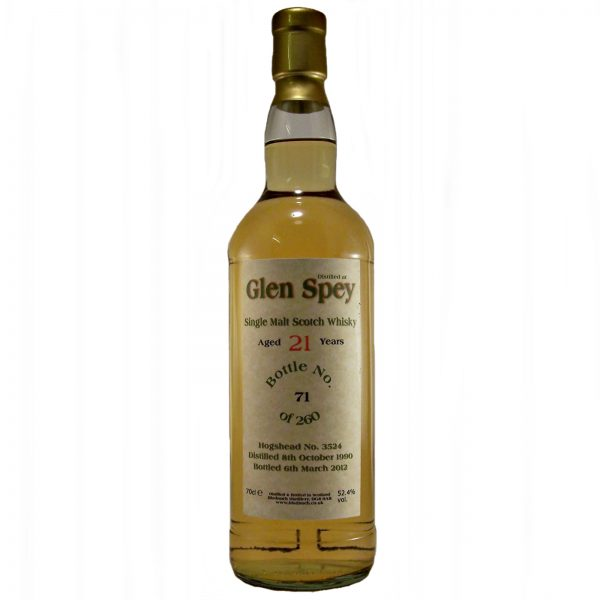 Glen Spey 21 year old Single Malt Whisky
