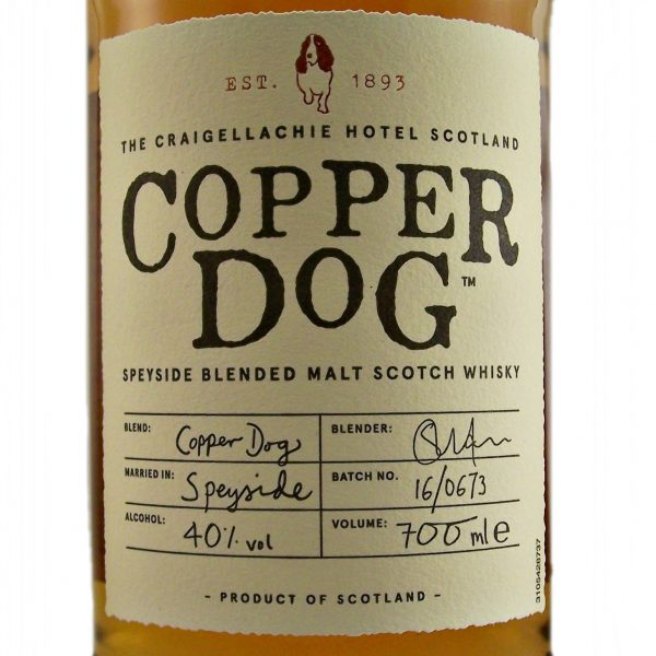 Copper Dog Speyside Blended Malt Whisky