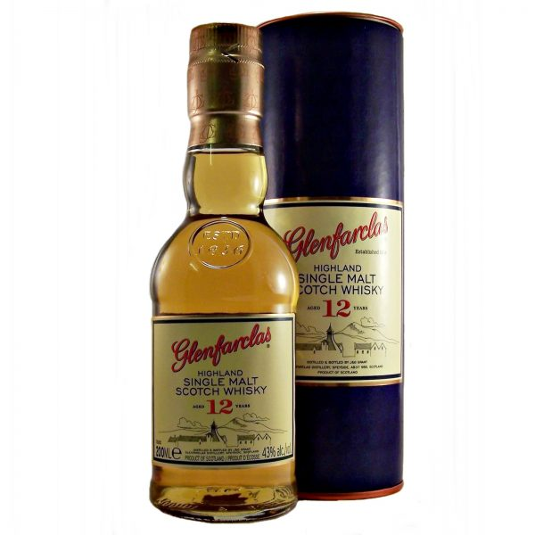 Glenfarclas 12 year old Malt Whisky