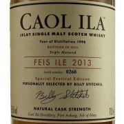Caol Ila Feis Ile 2013 Single Malt Whisky Islay Festival