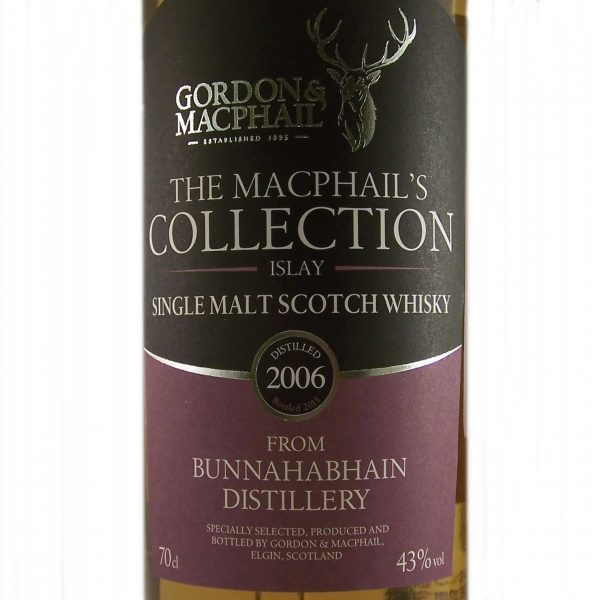 Bunnahabhain Single Malt Whisky 2006 vintage