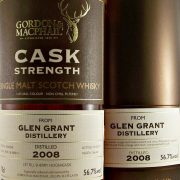 Glen Grant 2008 Cask Strength Single Malt Whisky