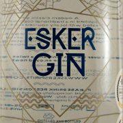 Esker Gin distilled and bottled on Royal Deeside Scotland