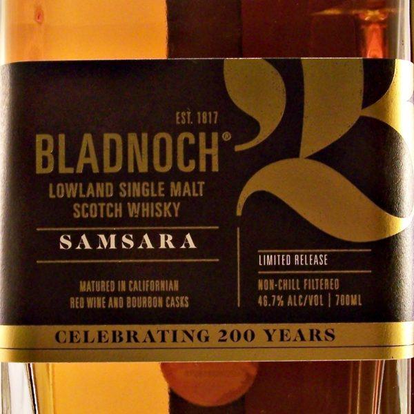 Bladnoch Samsara Single Malt Whisky 200th Anniversary