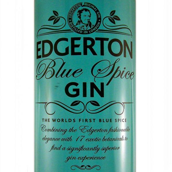 Edgerton Blue Spice London Craft Gin