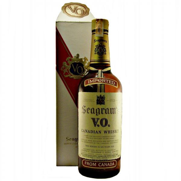 Seagrams V.O. 1975 Canadian Whisky