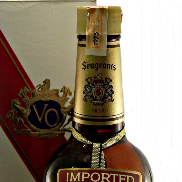Seagram's VO 1975 Canadian Whisky
