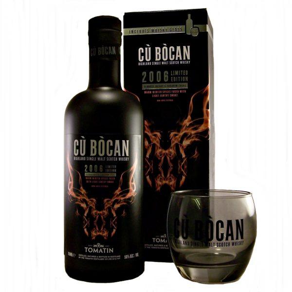 Cu Bocan 2006 Limited Edition Tomatin Single Malt Whisky