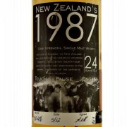 Touch Pause Engage 1987 New Zealand Whisky