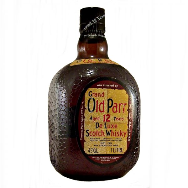 Grand Old Parr 12 year old De Luxe Scotch Whisky