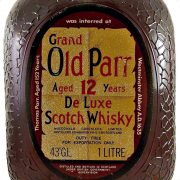 Grand Old Parr 12 year old De Luxe blended Scotch Whisky