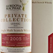Ledaig 2005 Hermitage Wood Finish single malt whisky