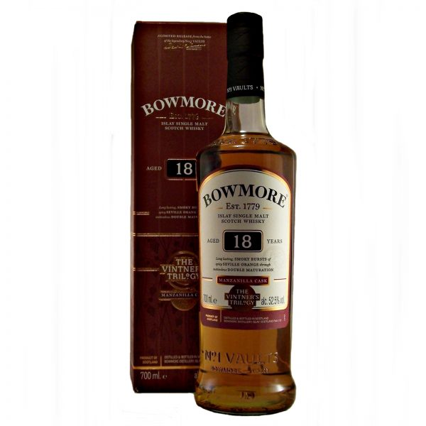 Bowmore 18 year old Manzanilla Cask