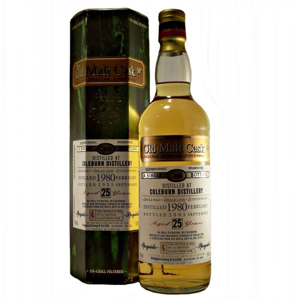Coleburn 25 year old 1980 Single Malt Whisky