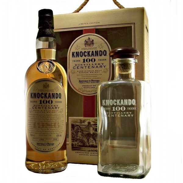 Knockando 100 years Distillery Centenary 1986