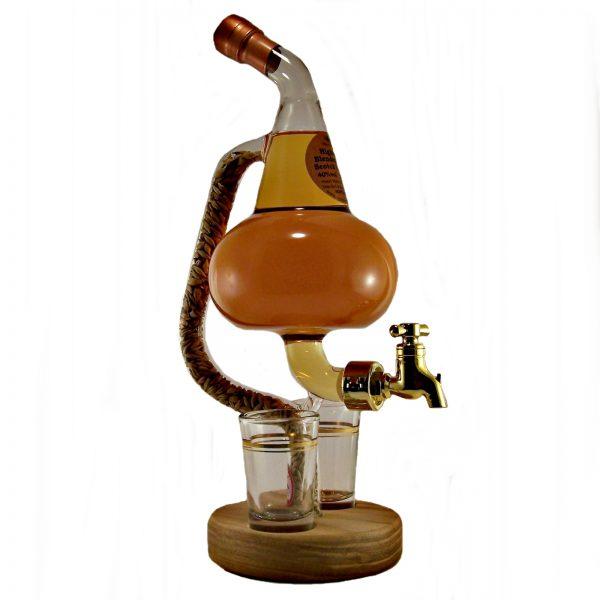 Pot Still and Glasses Malt Whisky
