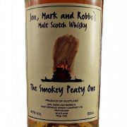 Jon, Mark and Robbo's The Smokey Peaty One whisky