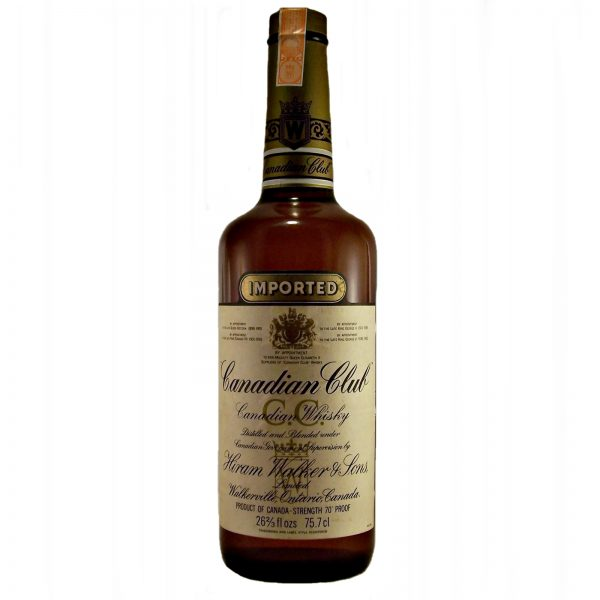 Canadian Club Whisky 1980's