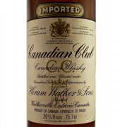 Canadian Club Whisky 1980's Whiskey