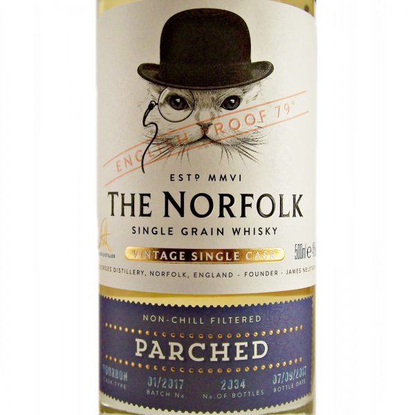 The Norfolk Parched Vintage English Single Grain Whisky