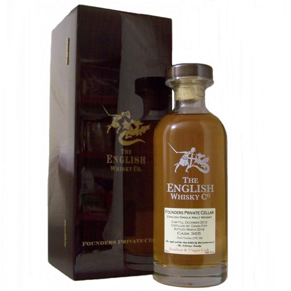 English Whisky Co Founders Private Cellar