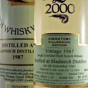 Bladnoch 1987 Signatory Single Malt Whisky