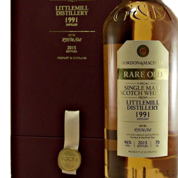 Littlemill 1991 Rare Old Lowland Single Malt Whisky
