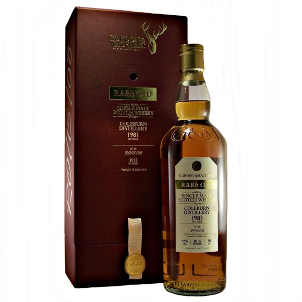 Coleburn 1981 Rare Old Single Malt Whisky