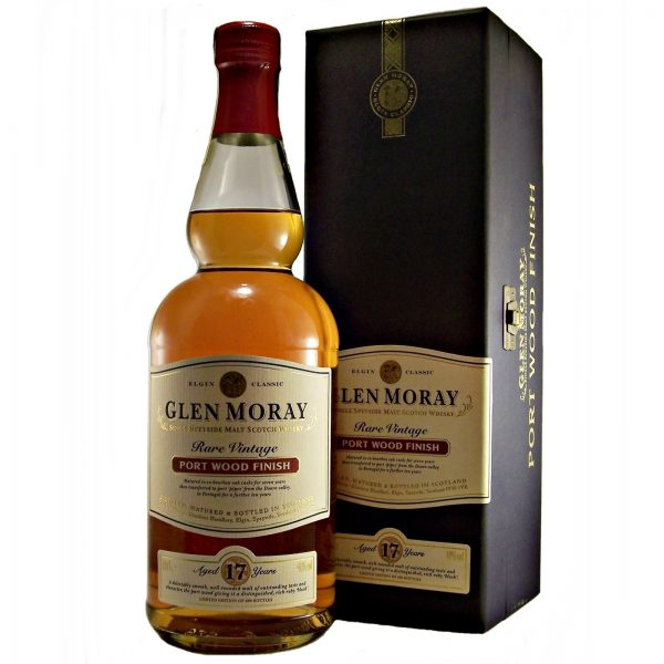 Glen Moray 17 year old Port Wood Finish Rare Vintage