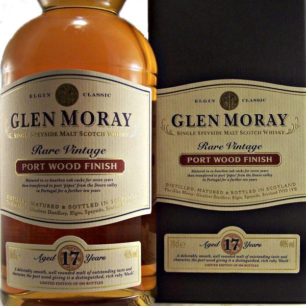Glen Moray 17 year old Port Wood Finish Whisky