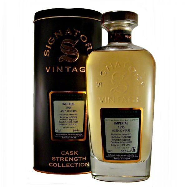 Imperial 1995 Vintage 20 year old Single Malt Whisky