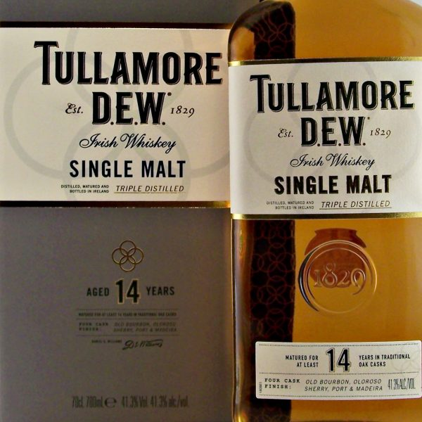 Tullamore 14 year old Single Malt Irish Whisky