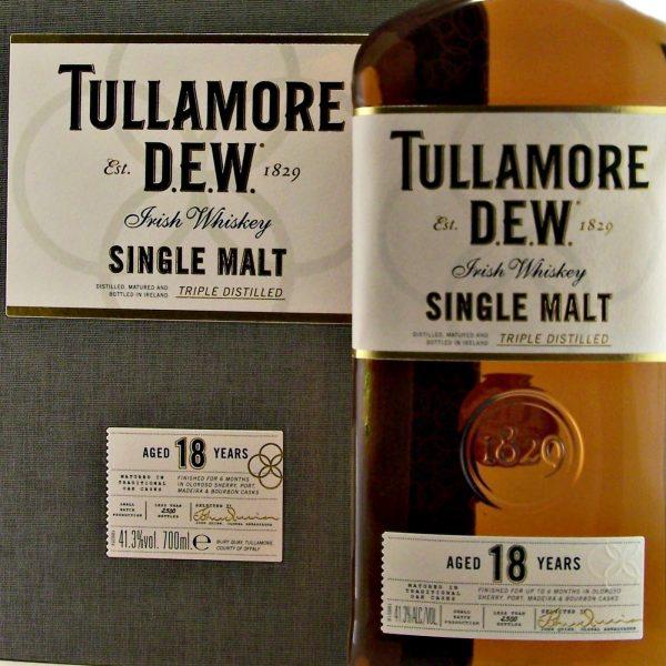 Tullamore 18 year old Single Malt Irish Whisky