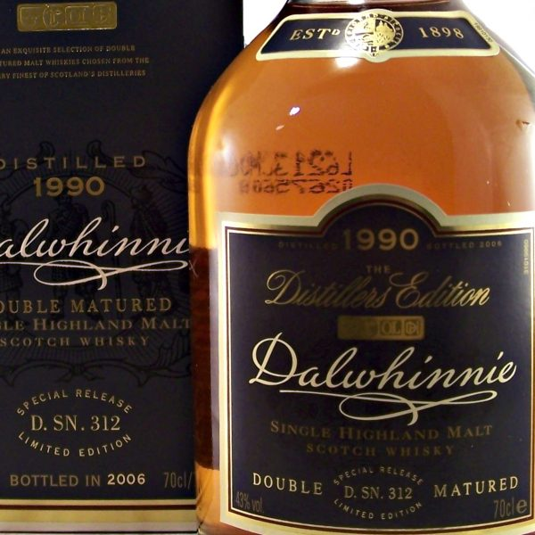 Dalwhinnie 1990 Distillers Edition Single Malt Whisky