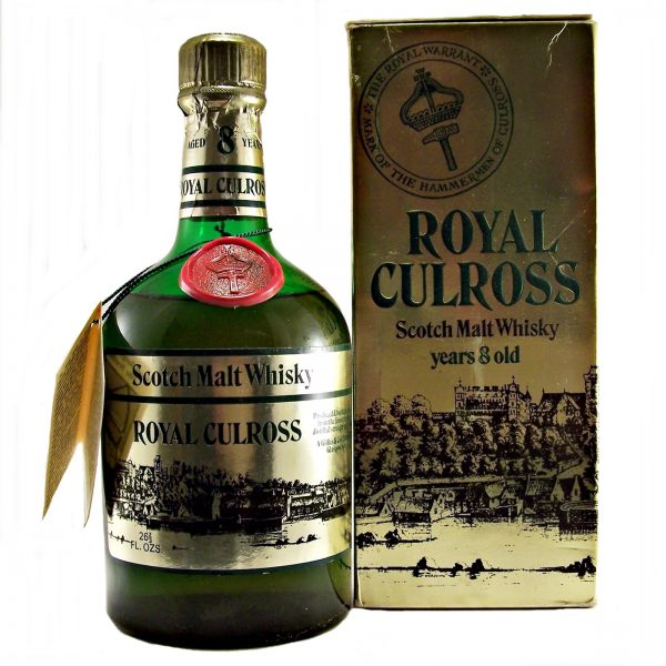 Royal Culross 8 year old Malt Whisky 1970's