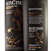 AnCnoc Peatheart Single Malt Whisky Batch 1 Knockdhu distillery