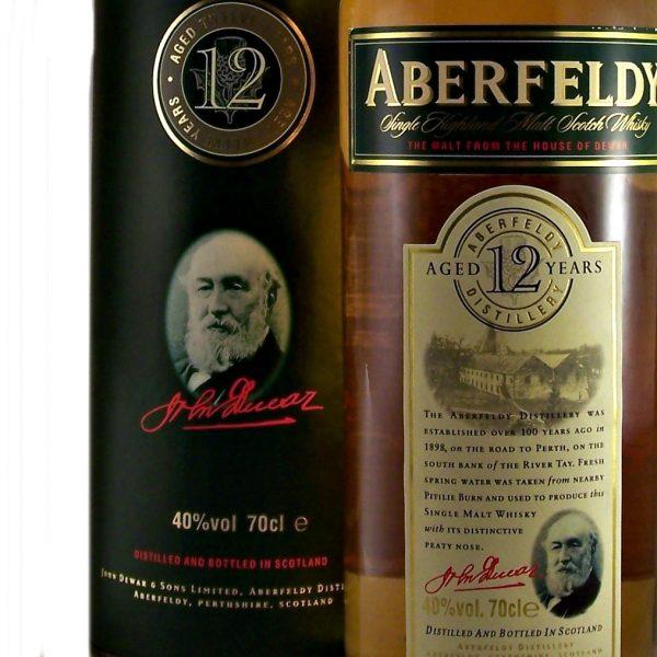 Aberfeldy 12 year old Single Malt Whisky