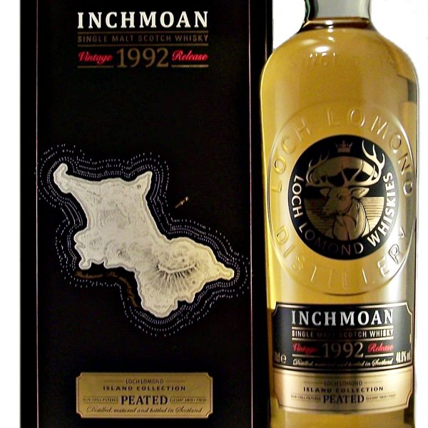 Inchmoan 1992 Vintage Release Single Malt Whisky Peated