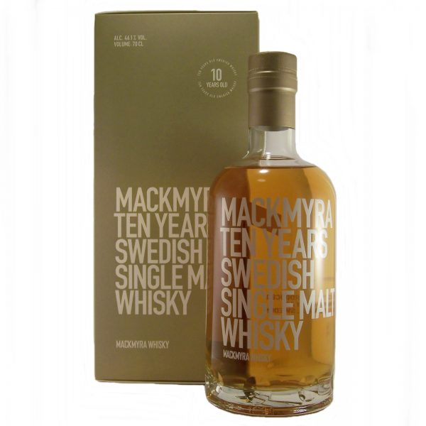 Mackmyra 10 year old Swedish Single Malt Whisky