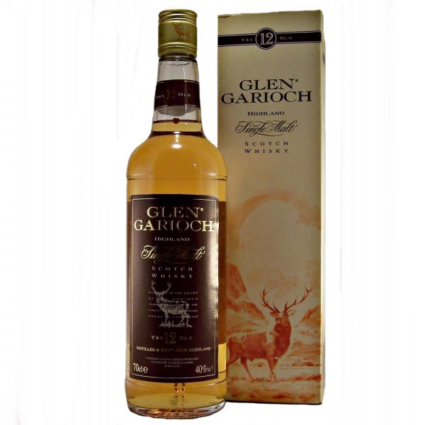 Glen Garioch 12 year old Single Malt Whisky bottled 2000's