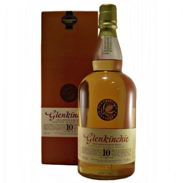 Glenkinchie 10 year old Single Malt Whisky Litre Bottle