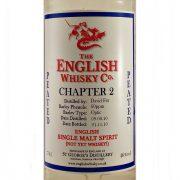 English Whisky Company Chapter 2 Peated Single Malt
