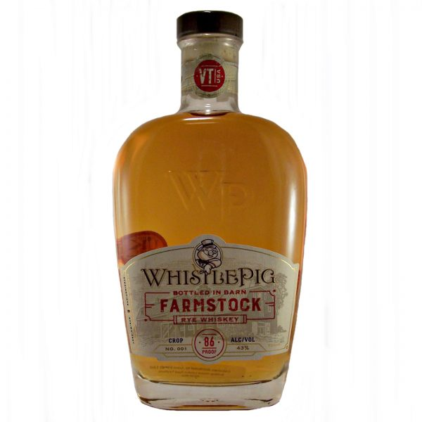 WhistlePig FarmStock Rye Whiskey Crop 001
