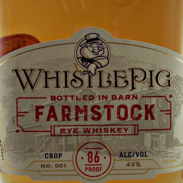 Whistle Pig Farm Stock Rye Whiskey Crop 001