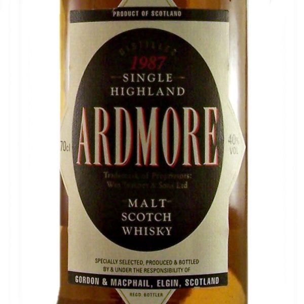 Ardmore 1990 Single Malt Scotch Whisky